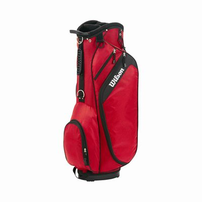 Wilson Profile Golf Cart Bag - Red