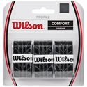 Wilson Profile Overgrip - 3 Pack - black colour