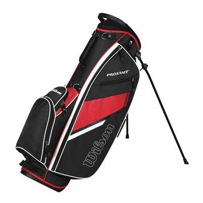 Wilson Prostaff Carry Bag-Black-Red