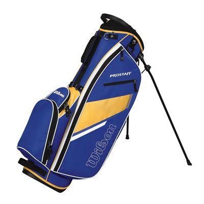 Wilson Prostaff Carry Bag-Blue-Yellow