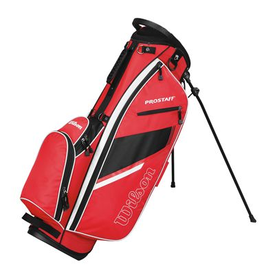 Wilson Prostaff Carry Bag-Red-Black