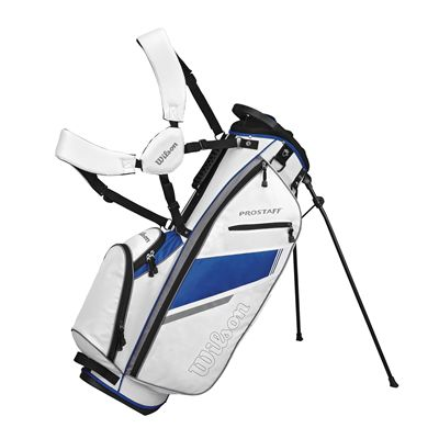 Wilson Prostaff Carry Bag-White-Blue