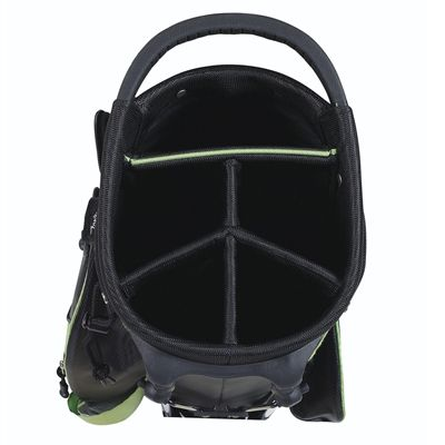 Wilson Prostaff Carry Golf Bag 2014 - Green/Inside