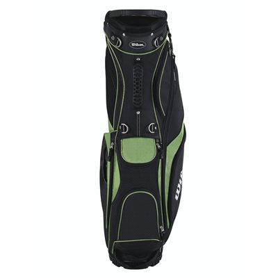 Wilson Prostaff Carry Golf Bag 2014 - Green/Front