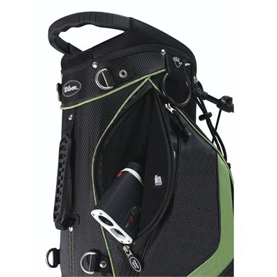 Wilson Prostaff Carry Golf Bag 2014 - Green/Pocket