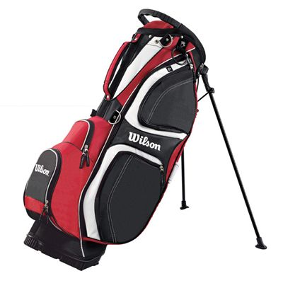 Wilson Prostaff Carry Stand Bag Red