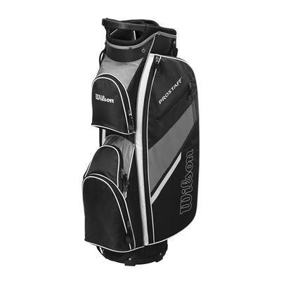 Wilson Prostaff Cart Bag-Black-Grey