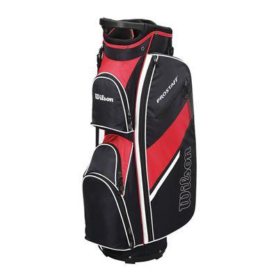 Wilson Prostaff Cart Bag-Black-Red