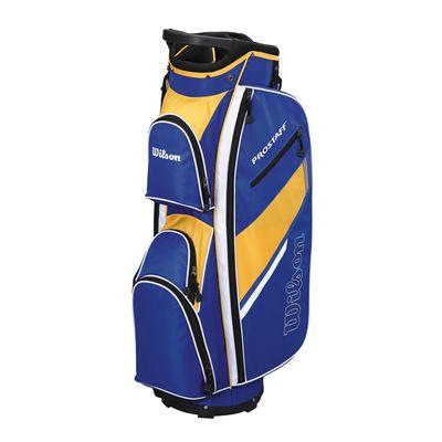 Wilson Prostaff Cart Bag-Blue-Yellow
