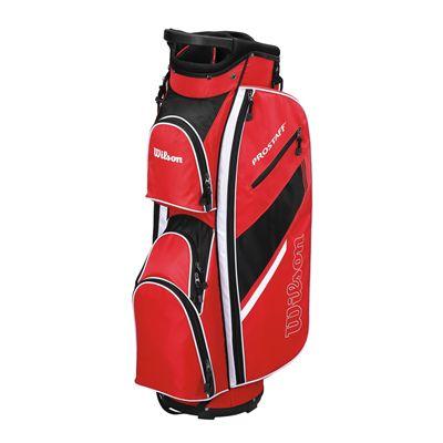 Wilson Prostaff Cart Bag-Red-Black