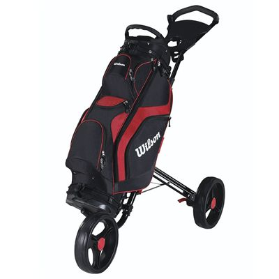 Wilson Prostaff Cart Golf Bag 2014 - Red/Cart
