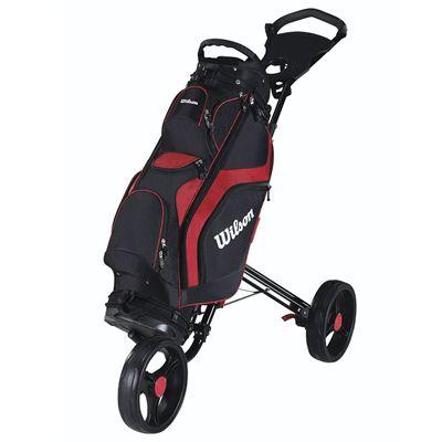 Wilson Prostaff Cart Golf Bag 2014 - Red/Cart