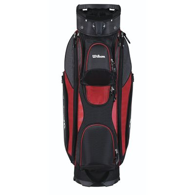 Wilson Prostaff Cart Golf Bag 2014 - Red/Front
