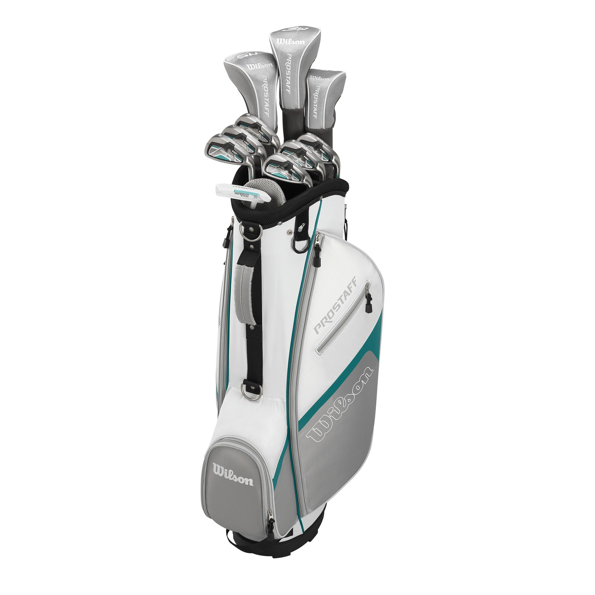Wilson Prostaff Hdx Ladies Graphite Package Golf Half Set
