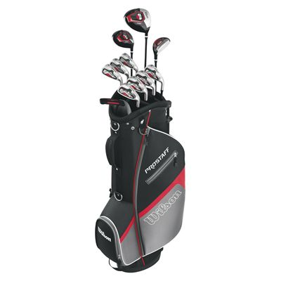 Wilson ProStaff HDX Steel Iron Mens Right Hand Set Standing