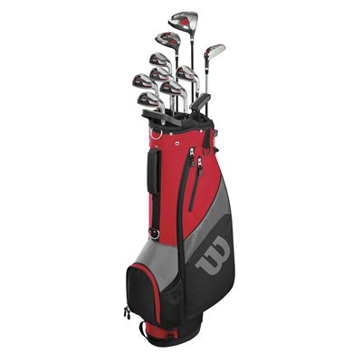 Wilson ProStaff SGI Steel Package Golf Set - Stand
