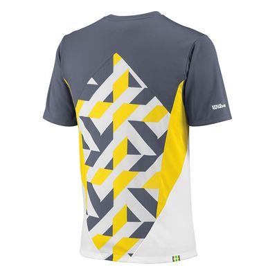Wilson Pure Battle Crew T-shirt Back
