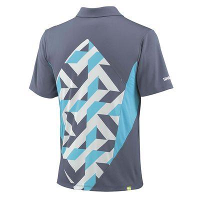 Wilson Pure Battle Polo Shirt Back