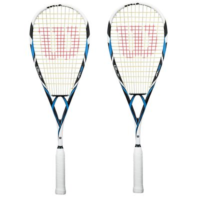 Wilson PY 138 BLX Squash Racket Double Pack