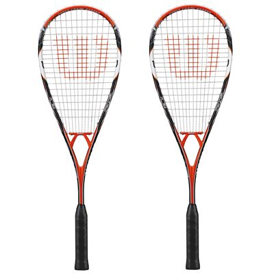 Wilson PY 145 BLX Squash Racket Double Pack SS15 - Front View