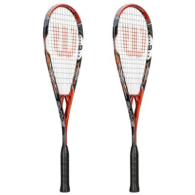 Wilson PY 145 BLX Squash Racket Double Pack SS15 - Side View