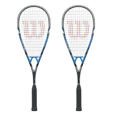 Wilson PY 145 BLX Squash Racket Double Pack