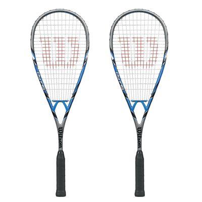 Wilson PY 145 BLX Squash Racket Double Pack