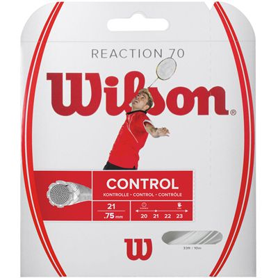 Wilson Reaction 70 Badminton String Set Image