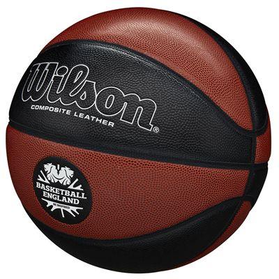 Wilson Reaction Pro Basketball England Basketball - Size 7 Angled