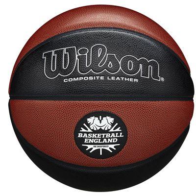 Wilson Reaction Pro Basketball England Basketball - Size 7 Back