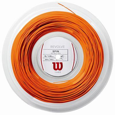 Wilson Revolve Tennis String 200m Reel - 15 Orange