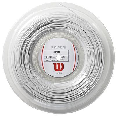 Wilson Revolve Tennis String 200m Reel - 15 White