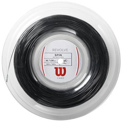 Wilson Revolve Tennis String 200m Reel - 16 Black
