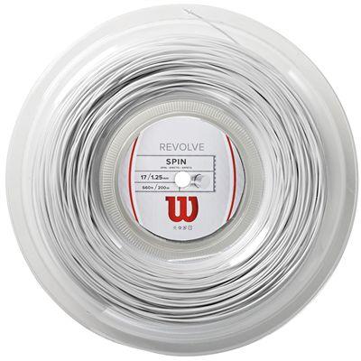 Wilson Revolve Tennis String 200m Reel - 17 White