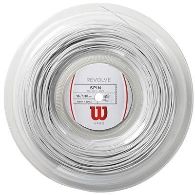 Wilson Revolve Tennis String 200m Reel - White