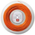 Wilson Revolve Tennis String Set - 17 Orange