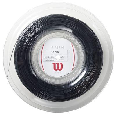 Wilson Rip Spin 15 Tennis String 200m Reel black