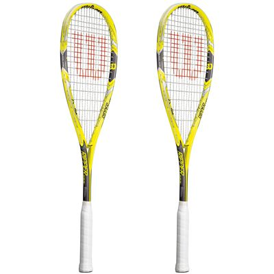 Wilson Ripper 133 BLX Squash Racket Double Pack SS15 - Site