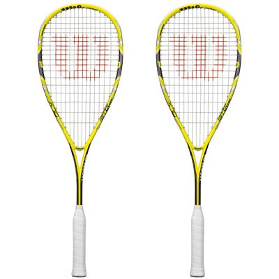Wilson Ripper 133 BLX Squash Racket Double Pack SS15