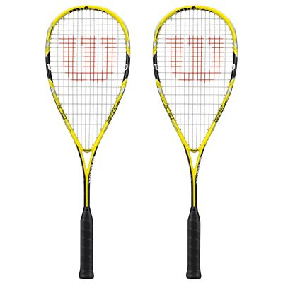 Wilson Ripper 135 BLX Squash Racket Double Pack SS15 - Front View
