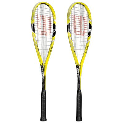 Wilson Ripper 135 BLX Squash Racket Double Pack SS15 - Side View