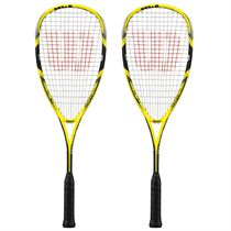Wilson Ripper 140 BLX Squash Racket Double Pack