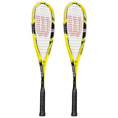 Wilson Ripper 140 BLX Squash Racket Double Pack SS15 - Side View