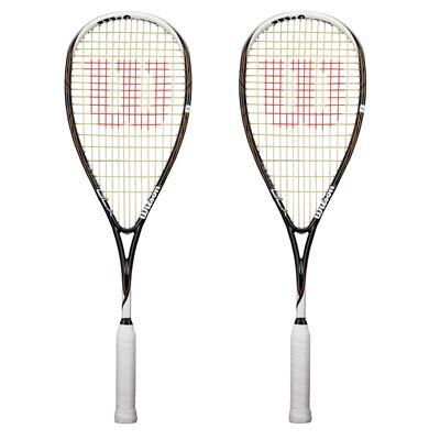 Wilson Ripper BLX Squash Racket Double Pack