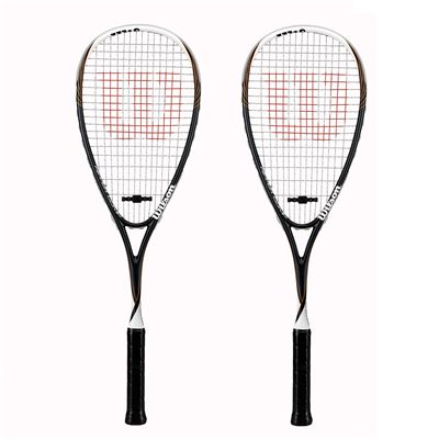 Wilson Ripper Comp Squash Racket Double Pack
