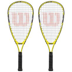 Wilson Ripper Junior Squash Racket Double Pack