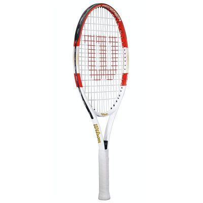 Wilson Roger Federer 23 Junior Tennis Racket - Side