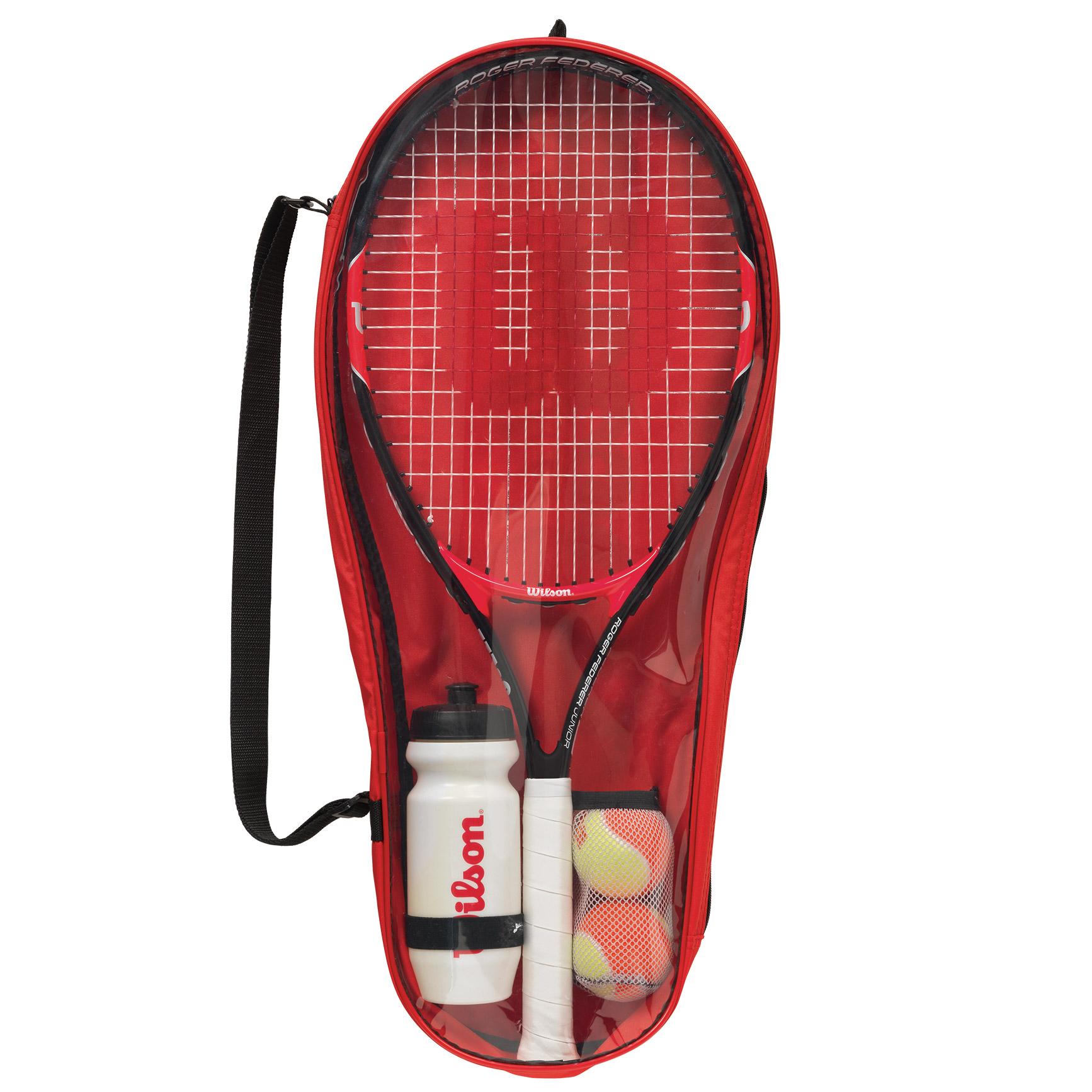 Wilson Roger Federer 25 Junior Tennis Starter Set