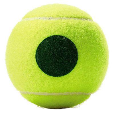 Wilson Roland Garros Green Tennis Balls - 12 Dozen - Back