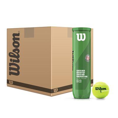 Wilson Roland Garros Green Tennis Balls - 6 Dozen